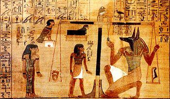 الإله شاي الفرعوني في يوم الحساب