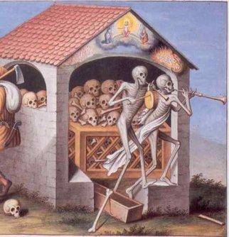Dance of Death by Emmanuel Büchel, 1773